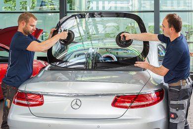 Car glass repair