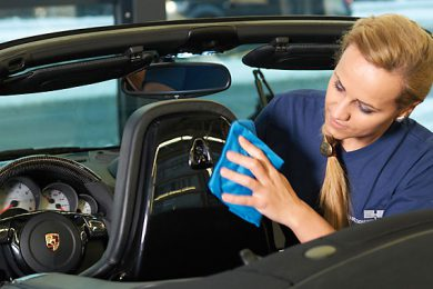 Vehicle care prior to leasing return