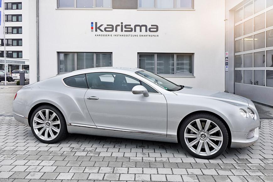 Reparieren statt Tauschen – Perfekte Instandsetzung eines Bentley Continental GT